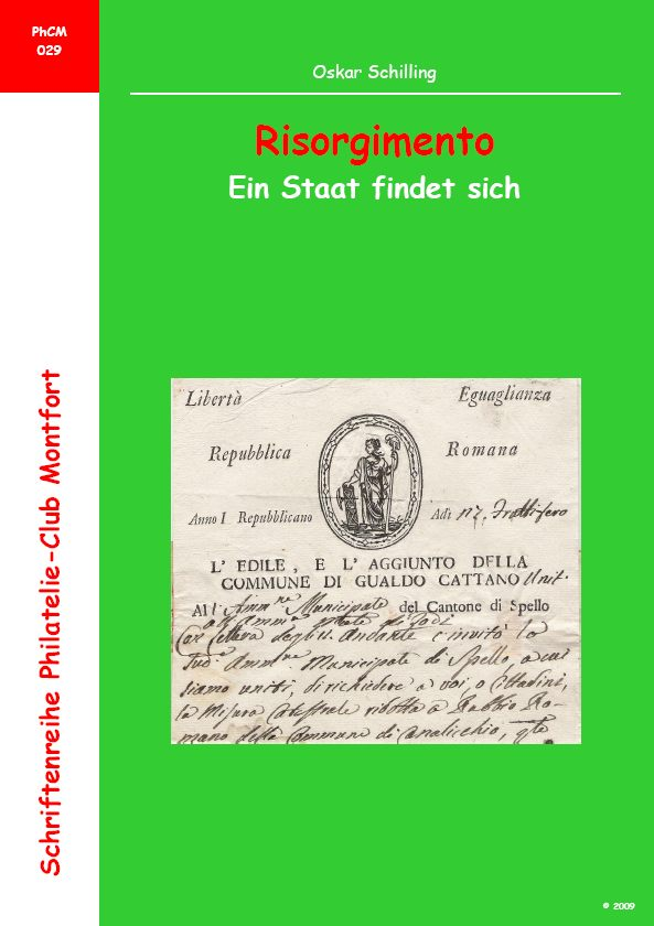 Book Cover: Risorgimento - Oskar Schilling