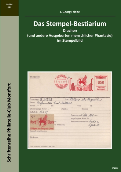 Book Cover: Das Stempel-Bestiarium - J. Georg Friebe