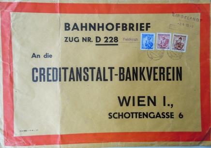Bahnhofbrief